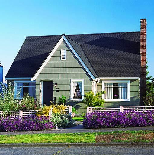 Частный дом дизайн двора своими руками