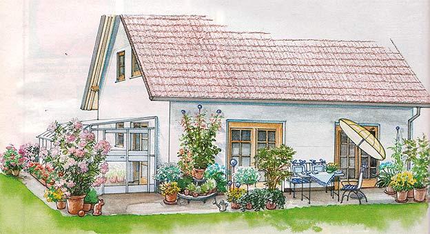 Дизайн террасы на даче своими руками