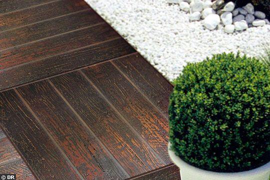 покрытие площадки на даче плитами