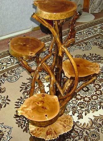 Мебель из кривых веток хендмейд