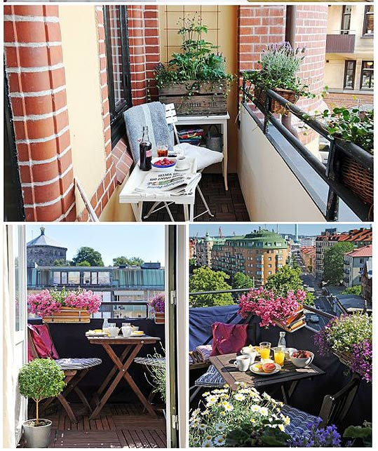 Как обустроить балкон/лоджию на лето своими руками загородны.