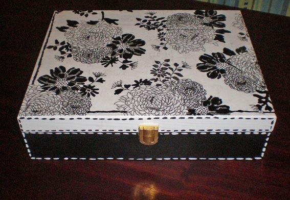 Коробка для рукоделия своими руками схема