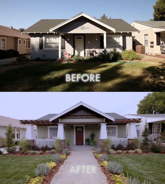 Ландшафтный дизайн на даче - до и после