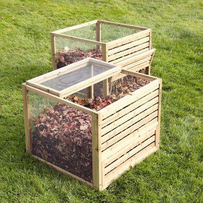 Компостные ящики для листьев