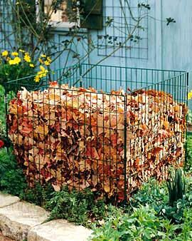Компост из листьев