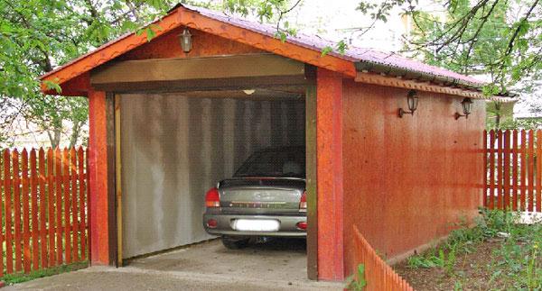 Строительство гаража 1