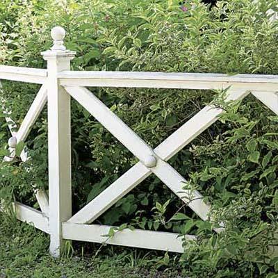 Декоративный забор 9