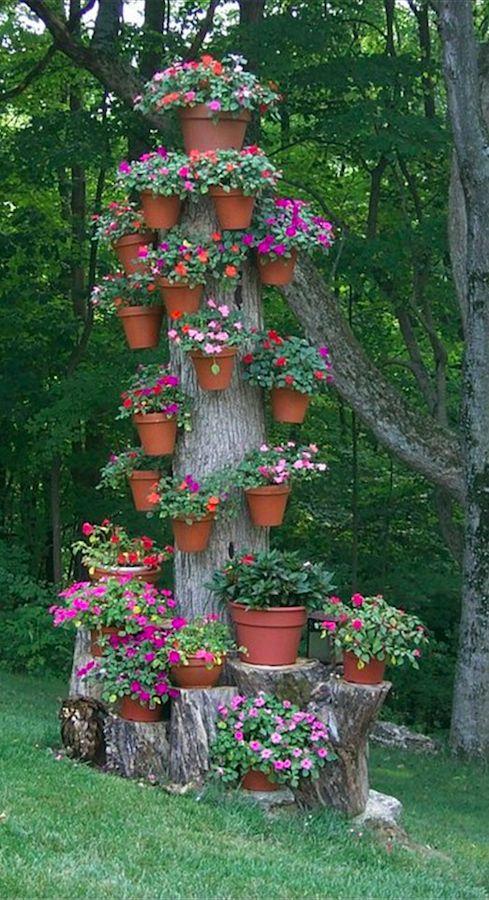Идеи из дерева для сада и огорода своими руками фото